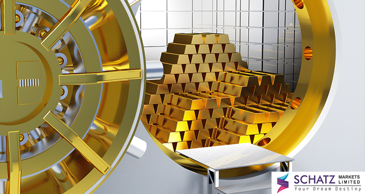 Read more about the article Gold holds firm above $1800 mark, just beneath multi-year tops